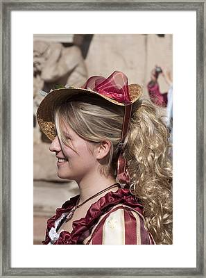Royal Renactment 2086 Framed Print by Charles  Ridgway