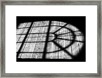 Royal Shadow Framed Print