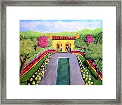 Royal Shrine Framed Print