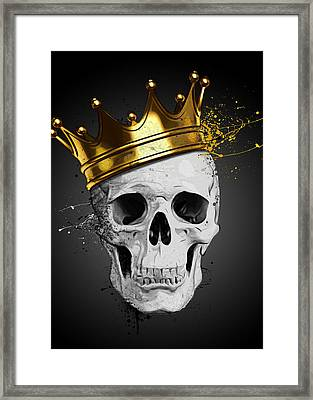 Royal Skull Framed Print
