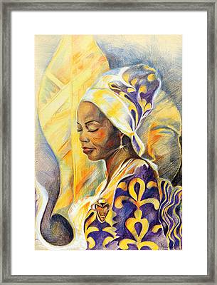 Royal Spirit Framed Print
