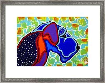 Royal Terrier Dog Design Airedale Sealyham Soft Coated Wheaten Lakeland Cesky  Framed Print