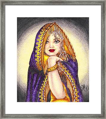 Royal Thoughts Framed Print by Scarlett Royal