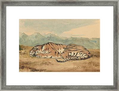 Royal Tiger Framed Print