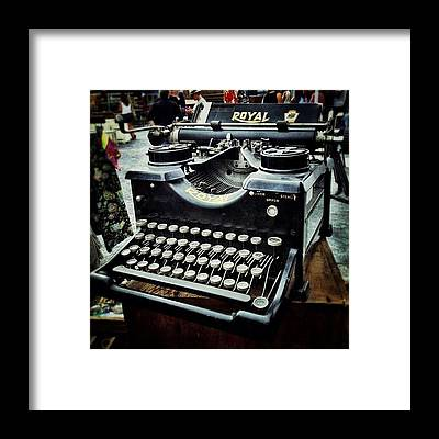 Typewriter Framed Prints