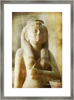 Royal Women In Ancient Egypt. Framed Print