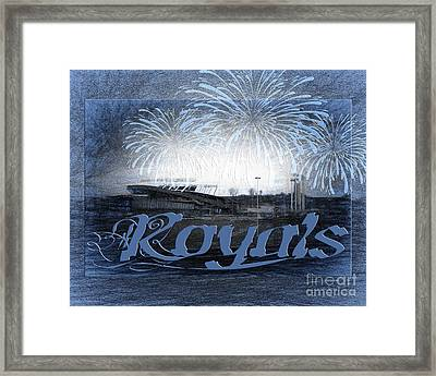 Royals Framed Print by Andee Design