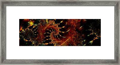 Royalty Wars Framed Print by Lauren Goia