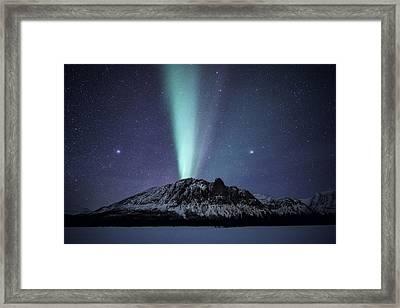 Royelkampen Framed Print by Tor-Ivar Naess