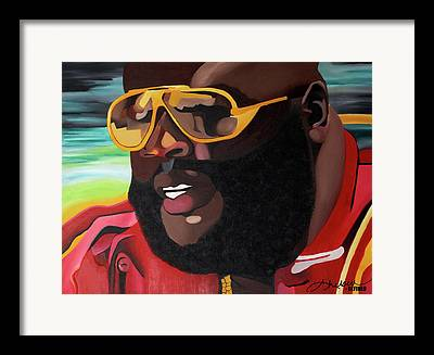 Rozay Framed Prints