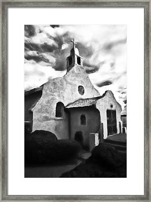 Rt 4 Church Framed Print