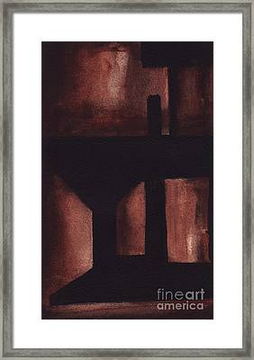 Rt 80 Abstract 2 Framed Print
