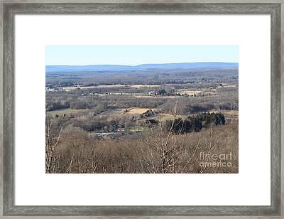 Rt 80 Scenic Ovelook Allamuchy 2 Framed Print