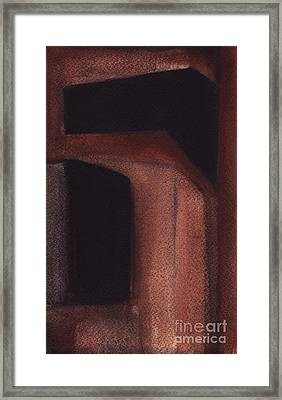 Rt.80 Abstract3 Framed Print