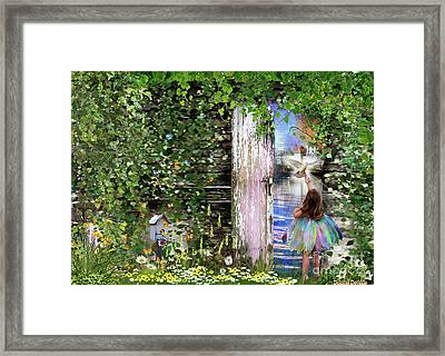 Ruach Ha-kodesh Framed Print by Dolores Develde