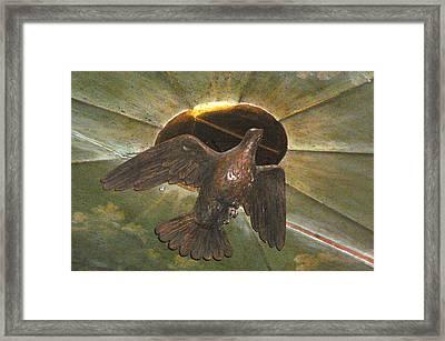 Ruacha - Ruach - Holy Spirit Framed Print by Dagmar Batyahav