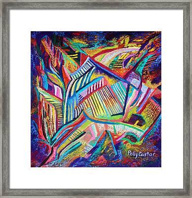 Rubaiyat Framed Print by Polly Castor