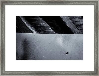 Rubber Tire Division Framed Print