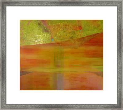 Rubi Framed Print by Meltem Quinlan
