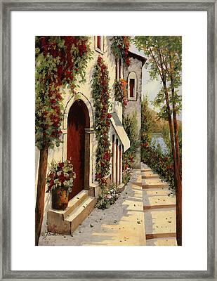 Rubino Framed Print