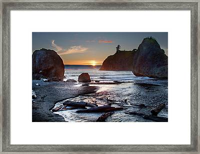 Ruby Beach #1 Framed Print