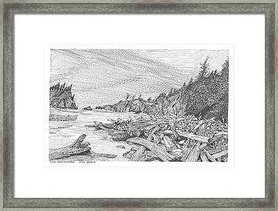 Ruby Beach Framed Print by Jack Pumphrey