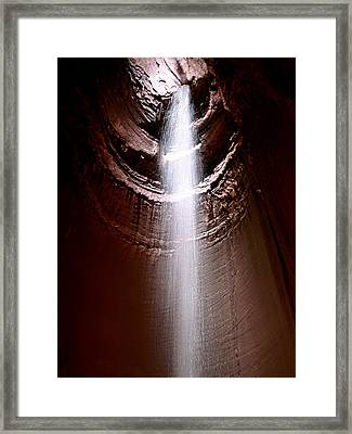 Ruby Falls Framed Print by Debra Forand