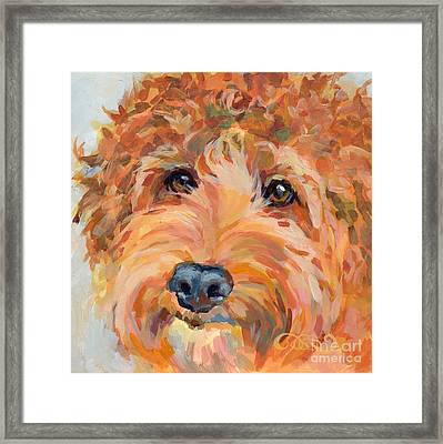 Ruby Framed Print by Kimberly Santini