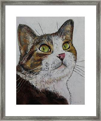 Ruby Framed Print by Michael Creese
