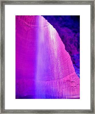 Ruby Niagara Falls Framed Print