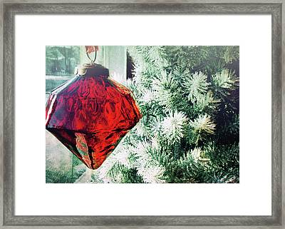 Ruby Red Framed Print by JAMART Photography