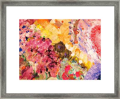 Ruby Sky Framed Print by HollyWood Creation By linda zanini