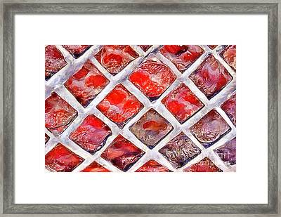 Ruby Windows Framed Print by Krissy Katsimbras