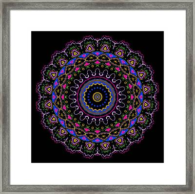 Ruching And Lace Framed Print by Joy McKenzie