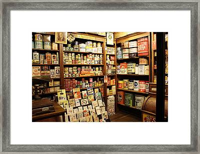 Ruddy's 1930 General Store Framed Print