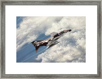 Rude Mood Framed Print by Peter Chilelli