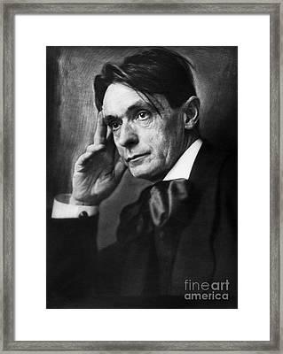 Rudolf Steiner (1861-1925) Framed Print by Granger