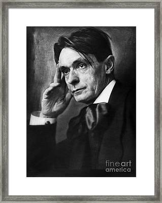 Rudolf Steiner (1861-1925) Framed Print