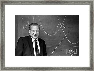 Rudolph Marcus, American Chemist Framed Print by Science Source