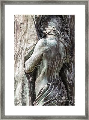 Rudolph Tegners Monument Framed Print