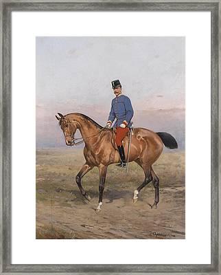 Rudolph Von Osterreich Framed Print