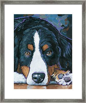 Rudy Framed Print by Nadi Spencer