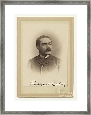 Rudyard Kipling  Framed Print