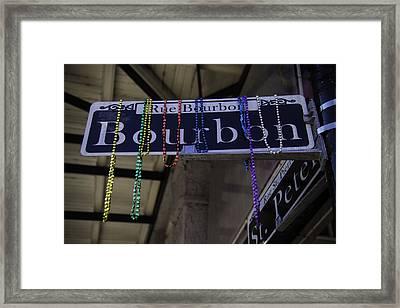 Rue Bourbon Framed Print
