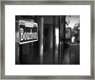 Rue Bourbon Framed Print by John Gusky