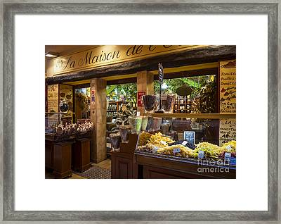 Rue Pairoliere In Nice France Framed Print