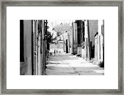 Ruelle Framed Print