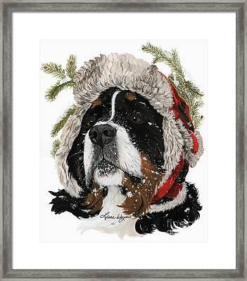 Ruff Winter Framed Print