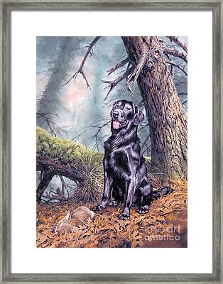 Ruffin Framed Print