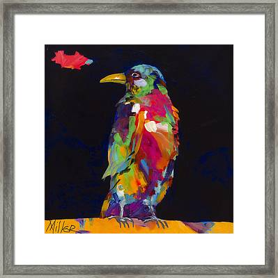 Ruffled Feathers Framed Print by Tracy Miller